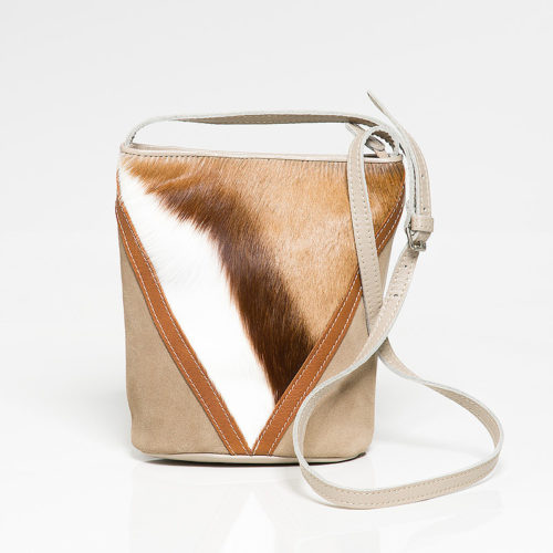 Natural Springbok Lulu Handbag