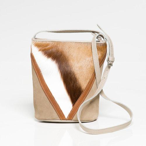 Natural Springbok Lulu Handbag