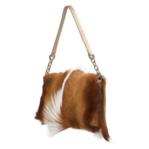 Luxury Clutch Natural Springbok Handbag