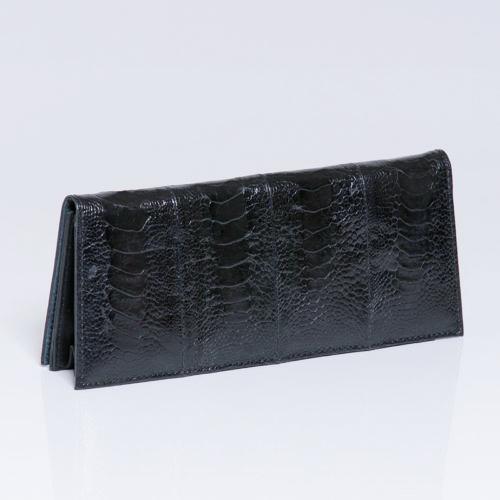 ostrich shin handbag