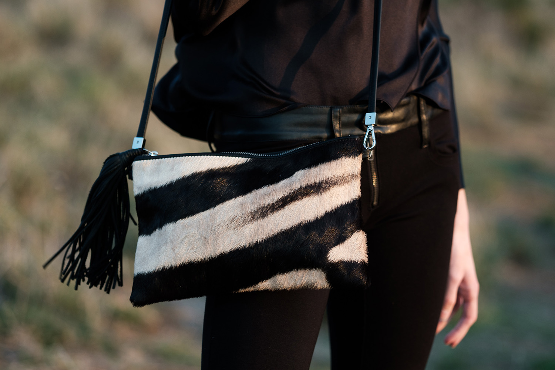 Zebra Natalie Handbag